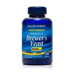 Naturalne Drożdże Piwne 500 mg 500 Tabletek