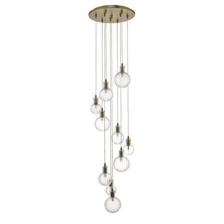 DITA 10LT Lampa Sufitowa WARM BRASS