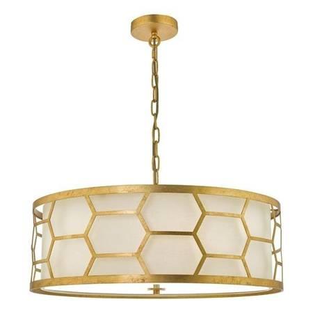 EPSTEIN 4LT Lampa Sufitowa Kolor Złoty IVORY