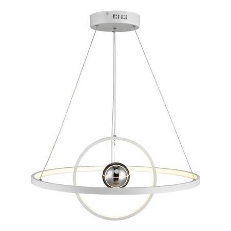 MERCURY 1LT Lampa Sufitowa HORIZONTAL 2 SPHERE Kolor Biały LED