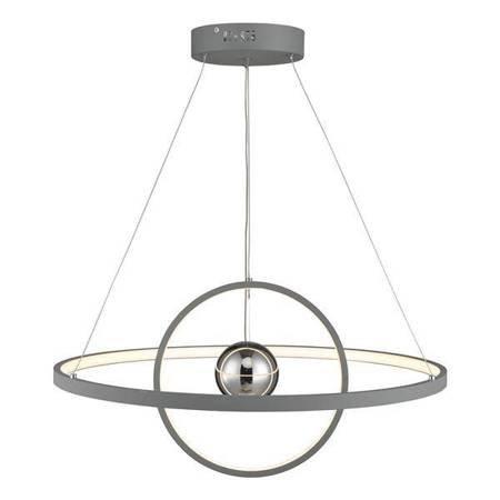 MERCURY 1LT Lampa Sufitowa HORIZONTAL 2 SPHERE Kolor Szary LED