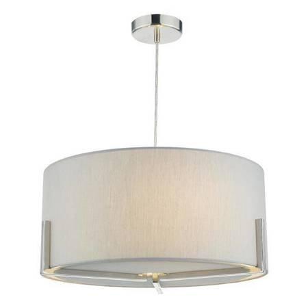 SANTINO 3LT Lampa Sufitowa Kolor Szary