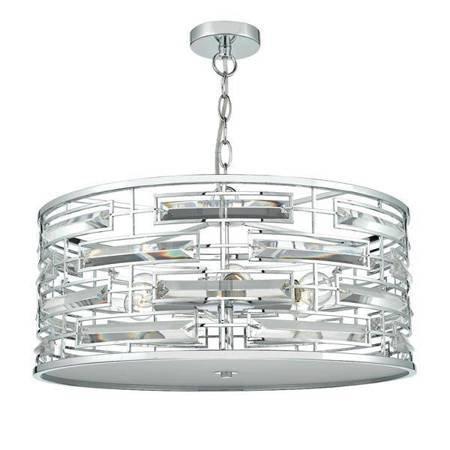 SEVILLE 6LT Lampa Sufitowa Motyw Kryształowy