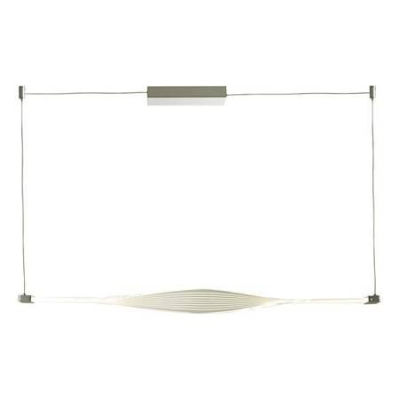 TWIST 1LT BAR Lampa Sufitowa Akrylowe Kolor Srebrny LED