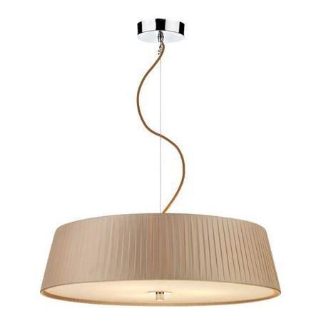 WHEEL 3LT SLIMLINE 570MM Lampa Sufitowa TAUPE