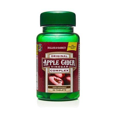 Wyciąg z Octu Jabłkowego 40 Tabletek