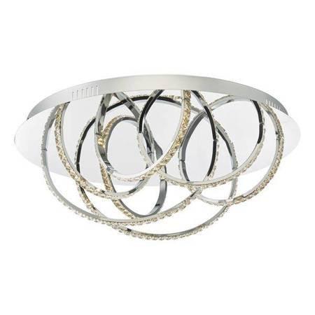 ZANCARA 7LT Lampa Sufitowa Motyw Kryształowy LED