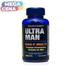 Ultra Man Multiwitamina dla Mężczyzn 100 Kapletek